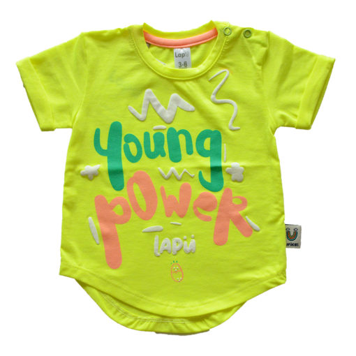 T-SHIRT-YOUNG-POWER-VERDE-LAPU